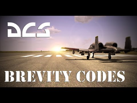 DCS: Radio Terminology/ Brevity Codes/Ordnance Codes Tutorial