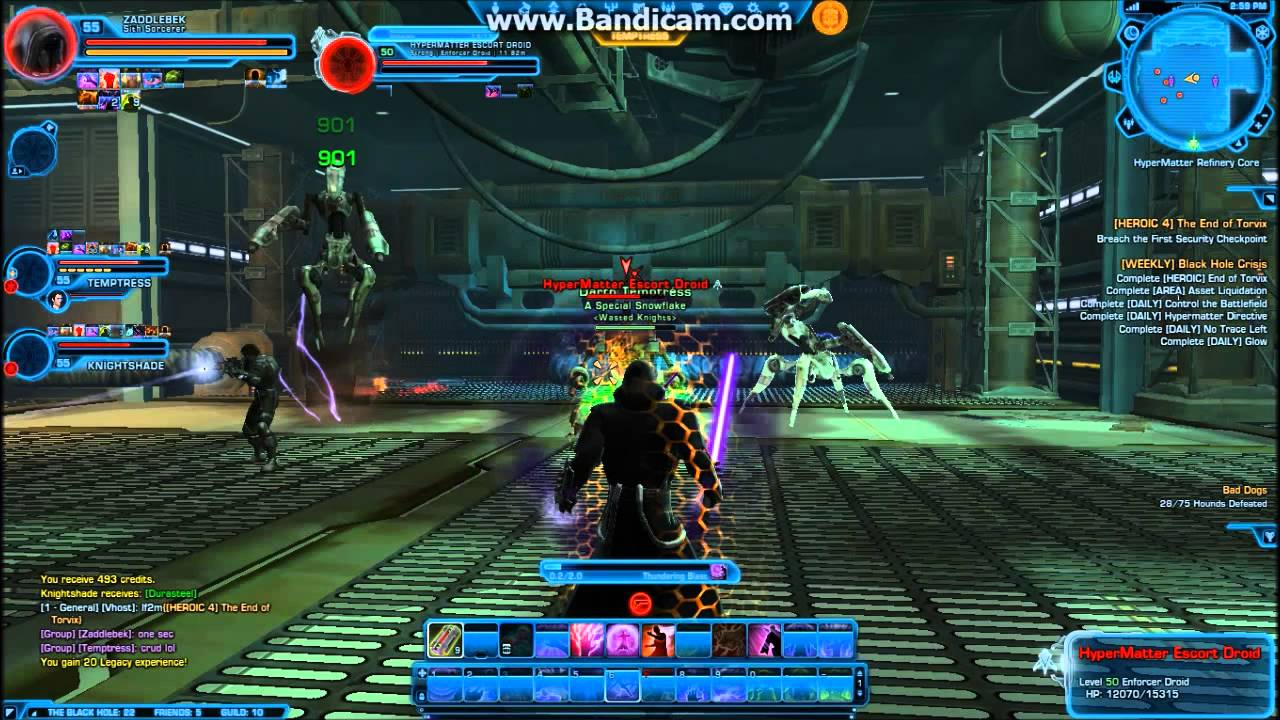 SWTOR Black Hole Dailies - Part 4 - Heroic 4: The End of ...
