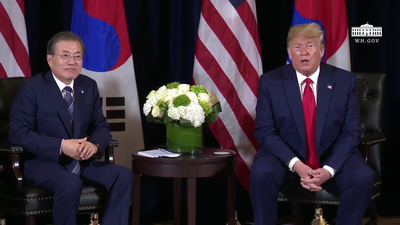 RSPN President Trump Participates in a Bilateral Meeting with the President of the Republic of Korea