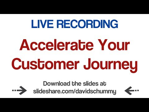 Accelerate Your Customer Journey Live at Small Business Foru