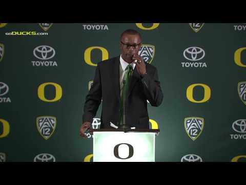 Willie Taggart introduction to Oregon Football