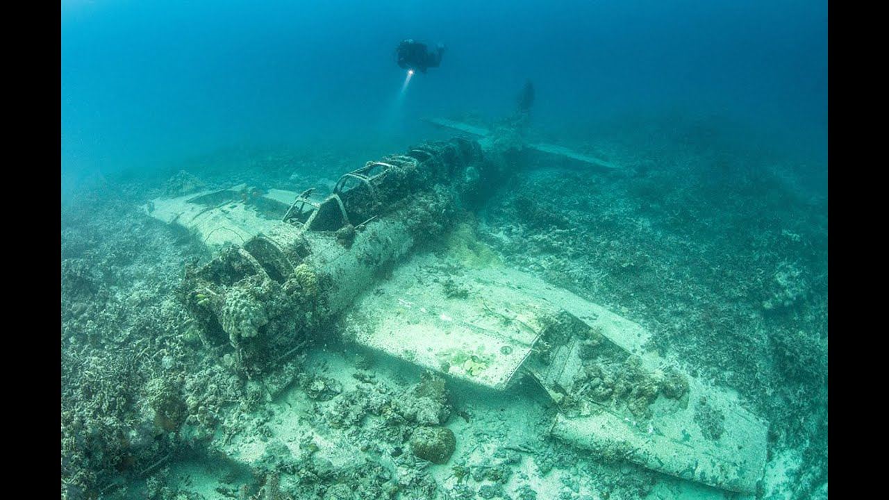 Pictures Ghostly Ocean Floor Graveyard Of Hundreds Of Ships And Planes  Memorial For WWII   YouTube