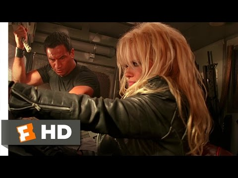 Barb Wire (8/10) Movie CLIP - Escape from Steel Harbor (1996) HD