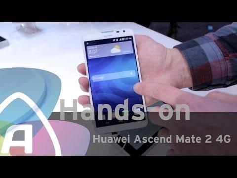 Huawei Ascend Mate 2 4G hands-on (Dutch)