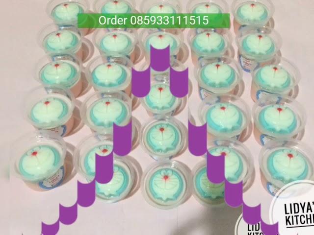 Puding Cup Unyu Unyu Doraemon
