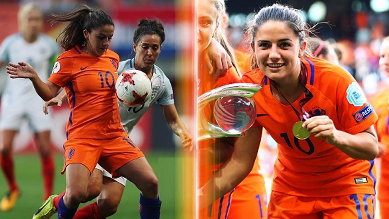 Daniëlle van de donk ruling midfielder womens euro 2017 hd