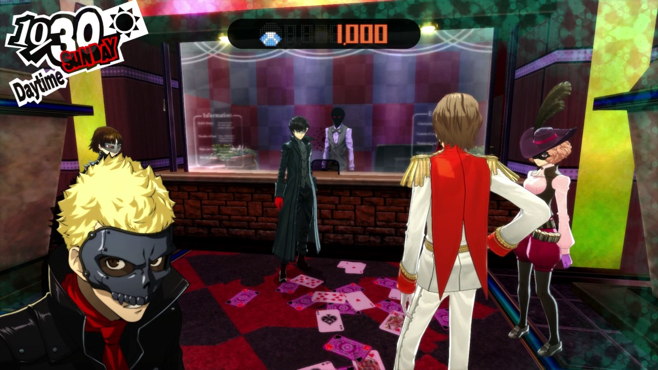 Persona 5 casino need coins
