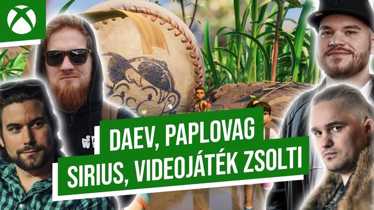 Az óriáspók nem barát 🕷️ daev, Paplovag, Sirius, Zsolti  🎮 Game Pass Fesztivál 14. nap