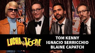Tom Kenny, Ignacio Serricchio, & Blaine Capatch (Hosts) - Backstage Mit HEiNO!