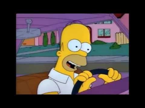 The Simpsons - Homer's Flintstones Song Parody