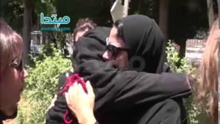 فيديو| بكاء ابنة الفنان سامى العدل