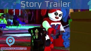 Lego DC Super-Villains - Gamescom 2018 Story Trailer [HD 1080P]