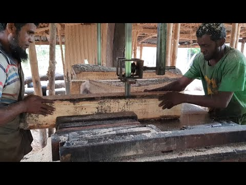 Great Craftsman with $150 Per Month For Cutting Unlimited Wood।Strong Old Fighter Wood Cutting