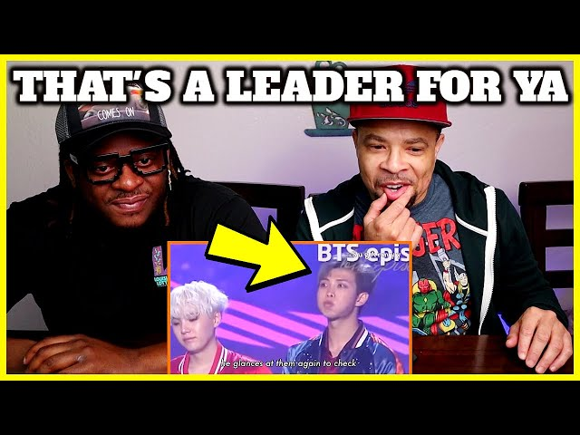That's a Leader For Ya | Namjoon's serious leader moments (REACTION)