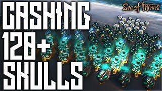 Sea of Thieves - Cashing In 120+ Skulls At Once!