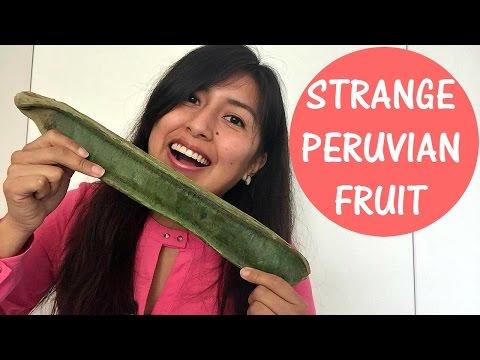 Another Strange Peruvian Fruit: Pacay (Vlog 22)
