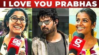 Shades Of Saaho - Chennai Girls Reaction | Prabhas | Shraddha Kapoor