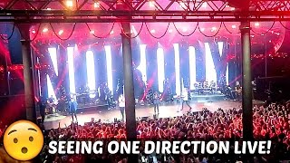 SEEING ONE DIRECTION LIVE