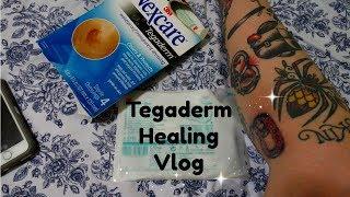 Tegaderm Diary Vlog. Tattoo Healing