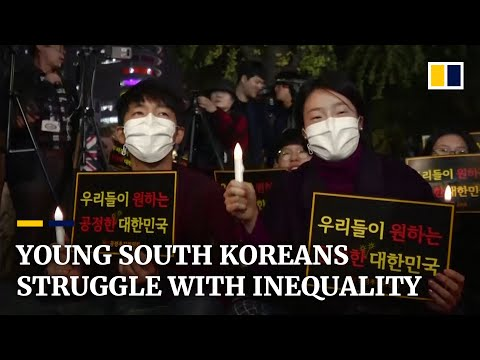 Deepening Inequality In South Korea Bites Struggling Youth