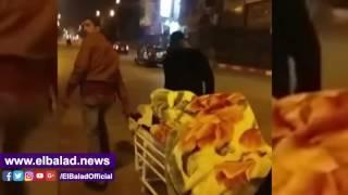 نشطاء يتداولون مقطع فيديو لطرد مريض من مستشفى سوهاج الجامعي