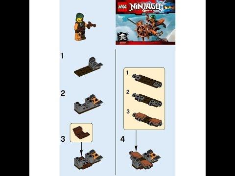 Инструкции Лего Ниндзя Го