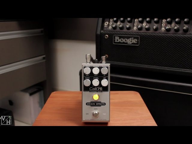 Origin Effects Cali76 Compact Bass Compressor - DEMO