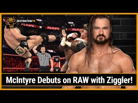 Drew McIntyre Debuts on RAW with Dolph...