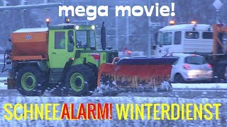 SCHNEEALARM! Winterdienst MEGA MOVIE - MAN, MB-Trac, Kubota, TREMO, Fendt, Massey Ferguson