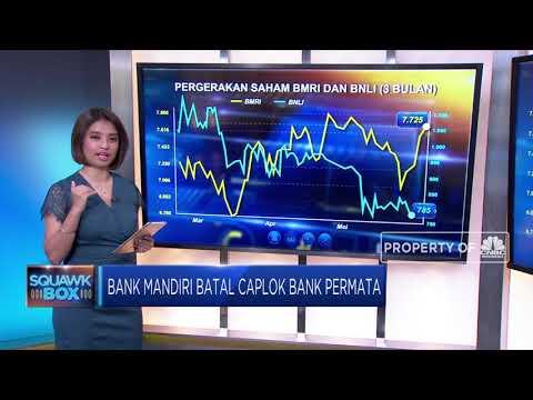 Bank Mandiri Batal Caplok Bank Permata