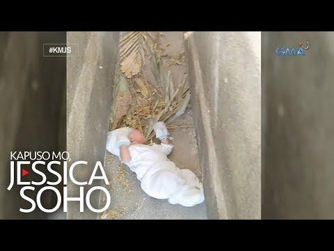 Kapuso Mo, Jessica Soho: Abandonadong sanggol, natagpuan sa isang sementeryo