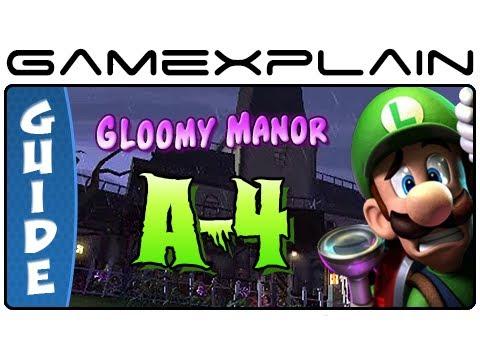 Luigi's Mansion 2: Dark Moon: Gloomy Manor...