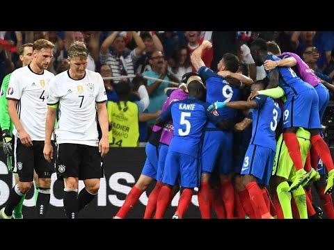 Download Deutschland vs Frankreich ● Alle Highlights ● EM Halbfinale 2016 (Epic Video)