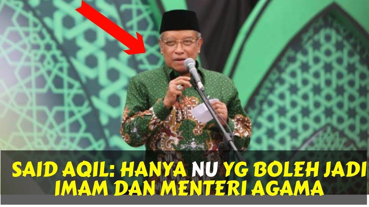 SOMBONG!. Tokoh Muhammadiyah: Said Aqil Tak Cerminkan Akal Sehat
