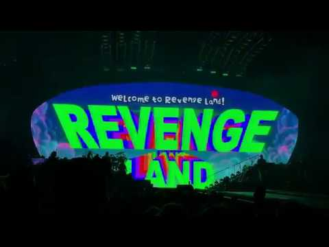Pink - Revenge Land Animation - P!NK Beautiful Trauma Tour - Indianapolis March 17, 2018