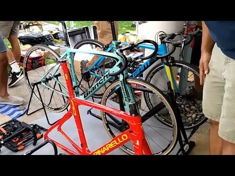 จักรยานนอนขี่  Bianchi เฟรมคาร์บอน  Giant Top อลู ตลาดนัดจักรยาน TOT