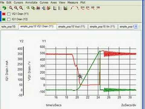SIMPLIS - Switching Losses in DC-DC Converter - YouTube