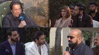 Imran Khan Meets Youtubers & Digital publishers   Junaid Akram, Ducky Bhai, Rahim Pardesi, Samoo