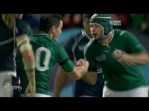 Ireland beats USA in Rugby World Cup - from Universal Sports
