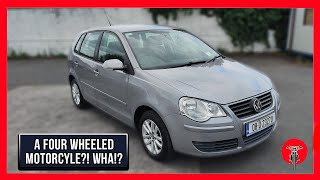 2008 Volkswagen VW Polo Review - 2009 Volkswagen polo 1.2 match for sale   car review vlog