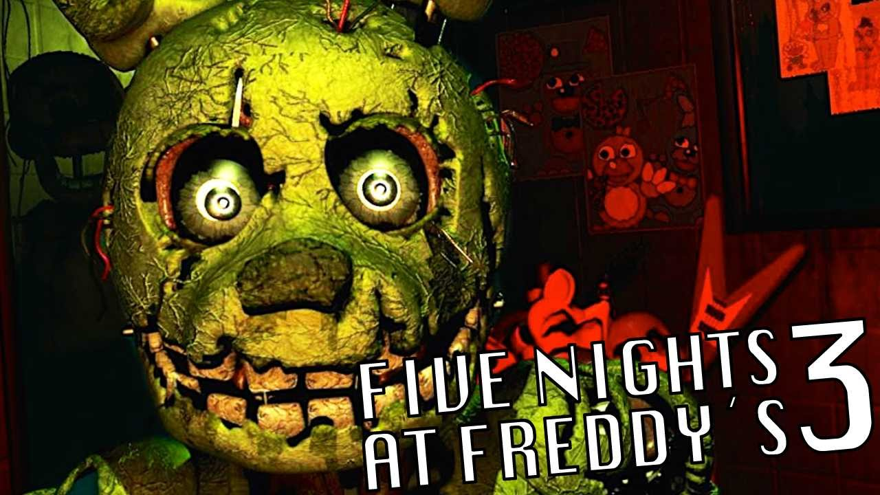 Five nights at freddy s 3 juegagerman youtube