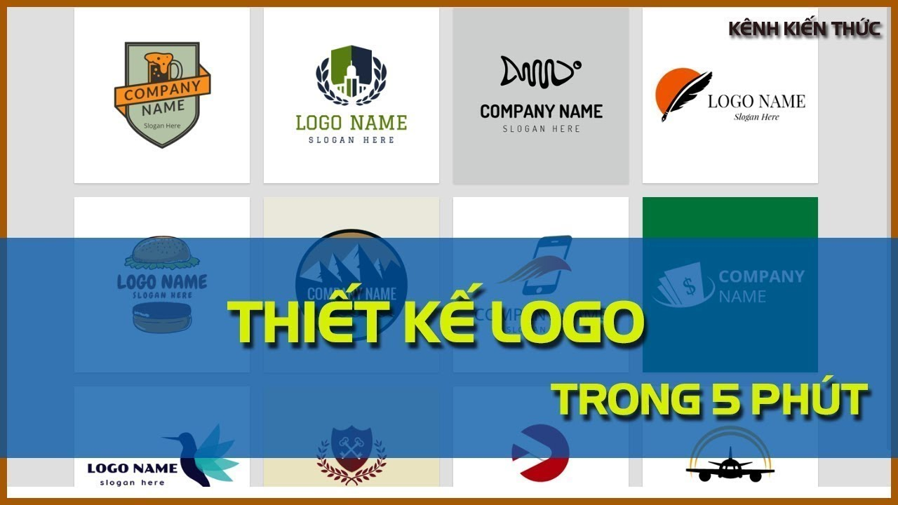 Thiết kế logo đẹp chuyên nghiệp trong 5 phút
