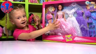 Лялька Ася. Розпакування та огляд ляльки з аксесуарами від Ярослави. Іграшки для дітей. Tiki Taki Cook