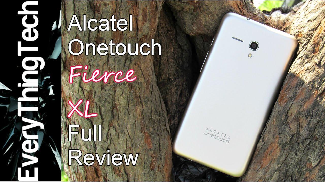 Alcatel OneTouch Fierce XL - Review