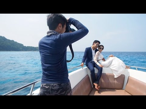 Pre Wedding GamGam & Am @ Phuket