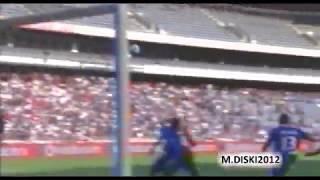 Benni McCarthy Overhead Kick vs Maritzburg - PSL 2012 - Pirates vs Maritzburg