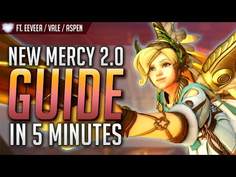 How to play NEW MERCY 2.0 in 5 MINUTES (Top 500 and #1 Mercy GUIDE) | Overwatch
