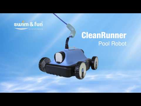 CleanRunner Pool Robot by Swim & Fun Scandinavia