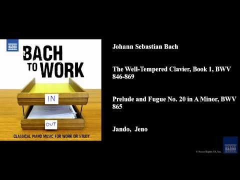 bach the well-tempered clavier book i bwv 846-869