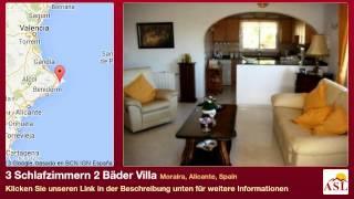 3 Schlafzimmern 2 Bäder Villa zu verkaufen in Moraira, Alicante, Spain